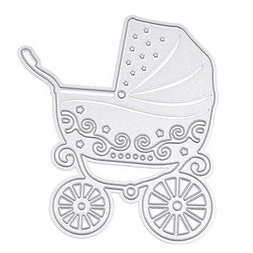 Amazon.com: Plantilla de metal para cochecito de bebé, de ...