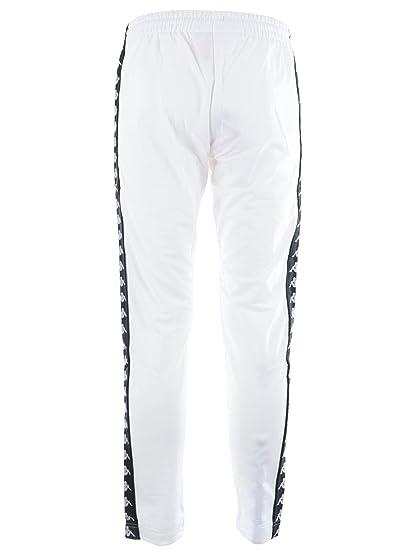 nuovi stili marchio popolare top design Kappa Pantalone Uomo 222 Banda Astoria Slim White/Black