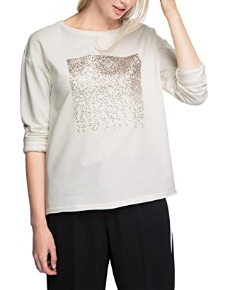 taille White shirt By Large 40 Sweat Esprit Fabricant Femme Blanc 076cc1j004 Edc off nBHSqxanTw