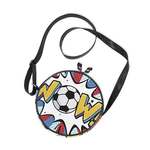 Ahomy Crossbody Wow Balón de fútbol moderno para niñas y niños ...
