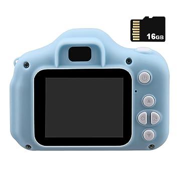 Winthai Mini Lindos niños videocámara cámara Digital Recargable ...