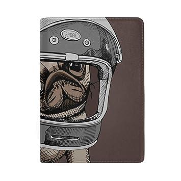 Dessin Animé Moto Casque Blocage Imprimer Passeport