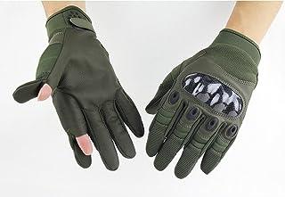 Weizhe Mode Outdoor tactique d'entraînement d'équitation Sports Fitness de protection complète Gants à doigts ArmyGreen taille unique