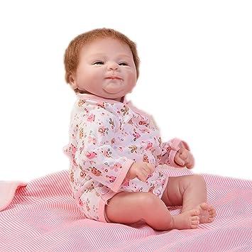 KEIUMI 17 Pulgadas Realistic Reborn Baby Dolls Niñas Que se Ven Real  Silicona Suave Realista Bebés fa169ac63eac