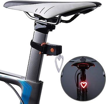 ZJWZ OUTERDO Bike Taillight 3 En 1 Bicicleta Luz Trasera ...