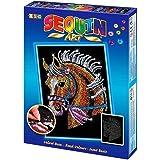 Sequin Art Horse Picture