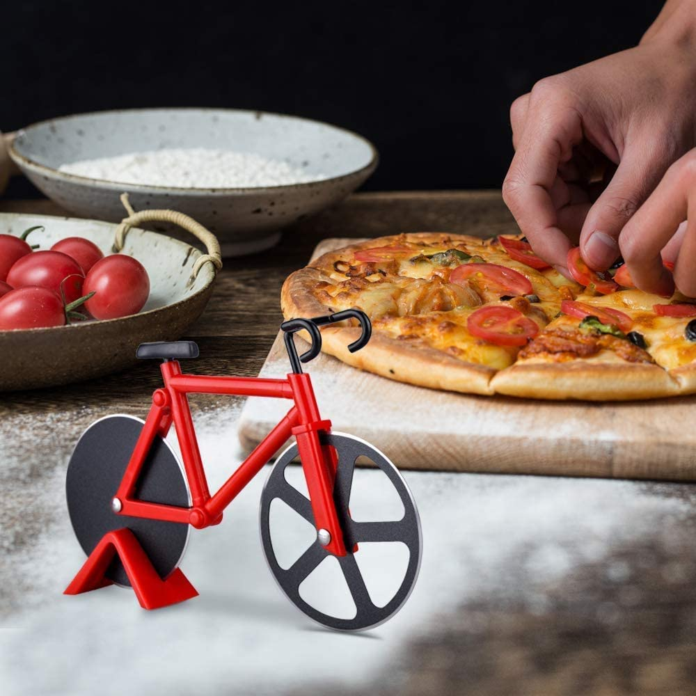 Compra ROBAKO Cortador de Pizza Cortador de Pizza Bicicleta ...