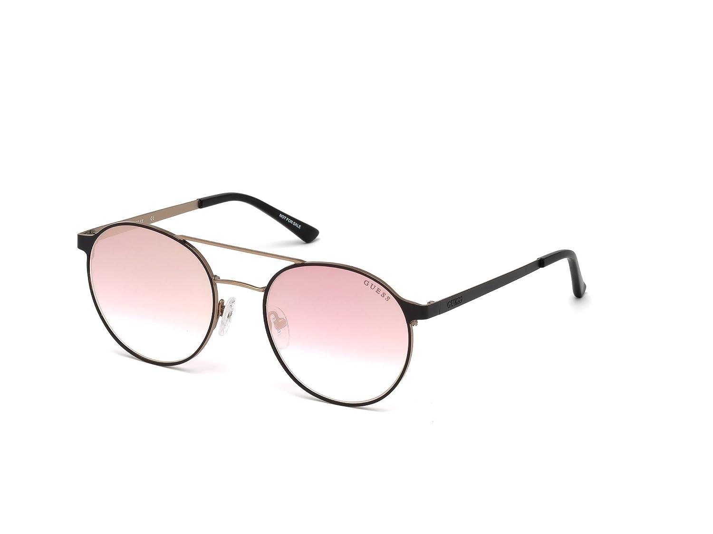 e9e4cbe22 GUESS Gu3023 Round Sunglasses, light blue & blue mirror, 52 mm: Amazon.ca:  Clothing & Accessories