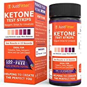 Amazon #DealOfTheDay: Just Fitter Ketone Test Strips. Lose Weight, Look & Feel Fabulous on a Low Carb Ketogenic or HCG Diet. Get Your Body Back! Accurately Measure Your Fat Burning Ketosis Levels in 15 Seconds. 125 Strips.