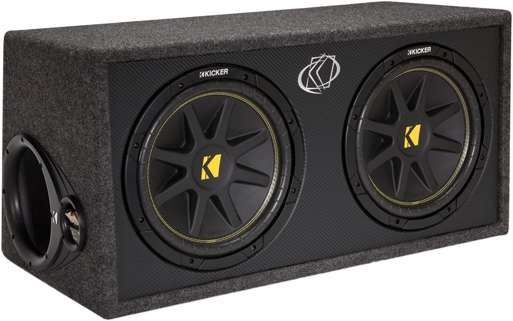 speakers in box. amazon.com: kicker 10dc122 enclosed car audio subwoofer: cell phones \u0026 accessories speakers in box