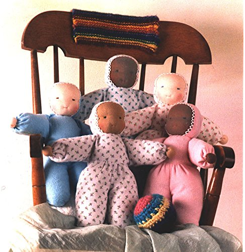 Customizable Waldorf Flannel Doll - Doll Waldorf Kits