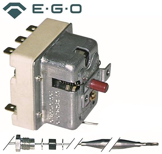 Seguridad Termostato EGO Tipo 55.32522.810 para Combi Silenciador, heissluftofen, horno eléctrico