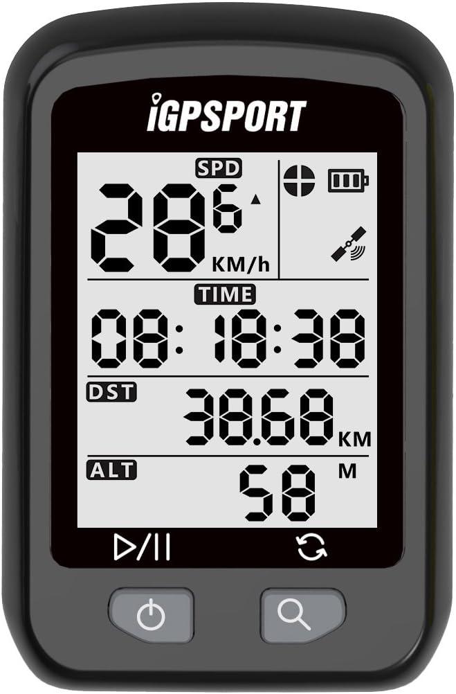 iGPSPORT Ciclocomputador GPS iGS20E Computadora Bicicleta ...
