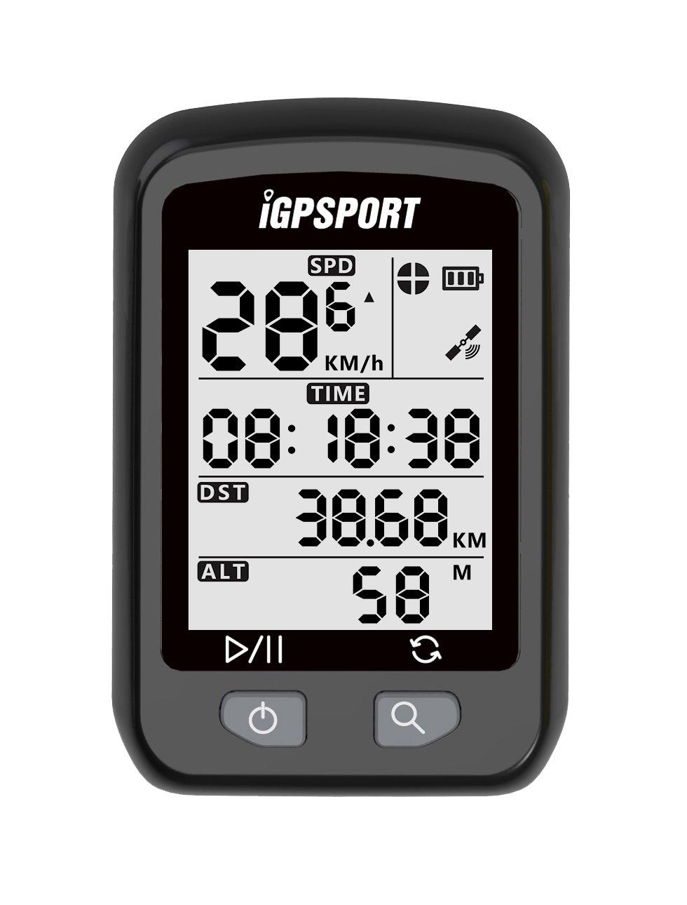 Ciclocomputador con GPS iGPSPORT E inalámbrico impermeable Ordenador de bicicleta