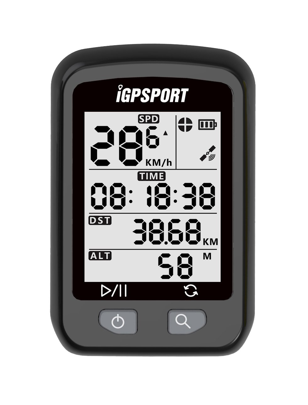 iGPSPORT 20E Waterproof GPS Wireless Cycling Bike Computer(Only Support Kilometer) by iGPSPORT