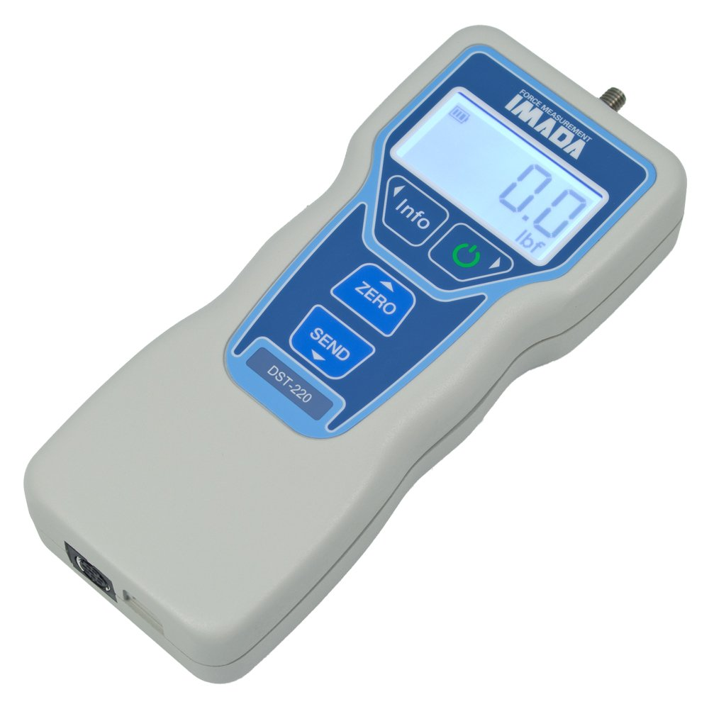 DST Digital Force Gauge (11.00 lbf, With NIST Traceable Certificate)