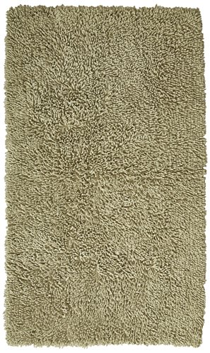Pinzon 100% Cotton Looped Bath Rug with Non-Slip Backing - 30 x 50 inch, Sage
