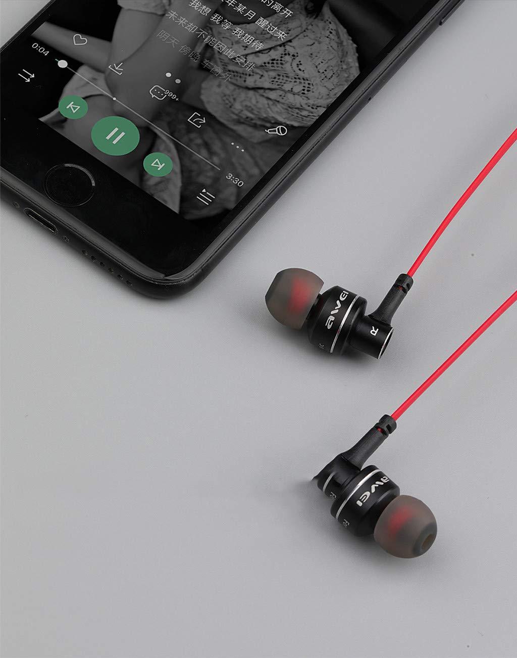Qomomont Impermeable IPX4 Auriculares BT Atracci/ón magn/ética Auriculares Est/éreo In-Ear Deportes con micr/ófono Correr Cascos Deportivos Manos Libre Auricular Inal/ámbrico para Android y iOS