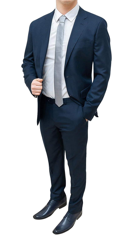 FB Completo CLASS Abito Completo FB Uomo Sartoriale Blu Scuro Slim Fit  Elegante Blazer Giacca con 79a1373a338