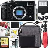 Fujifilm X-Pro 2 Mirrorless Digital Camera (Body Only) + 64GB Memory Card & Flash Accessory Bundle