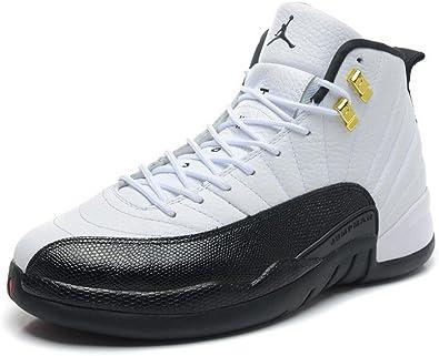 Amazon.com | Jordan 12 Taxi white