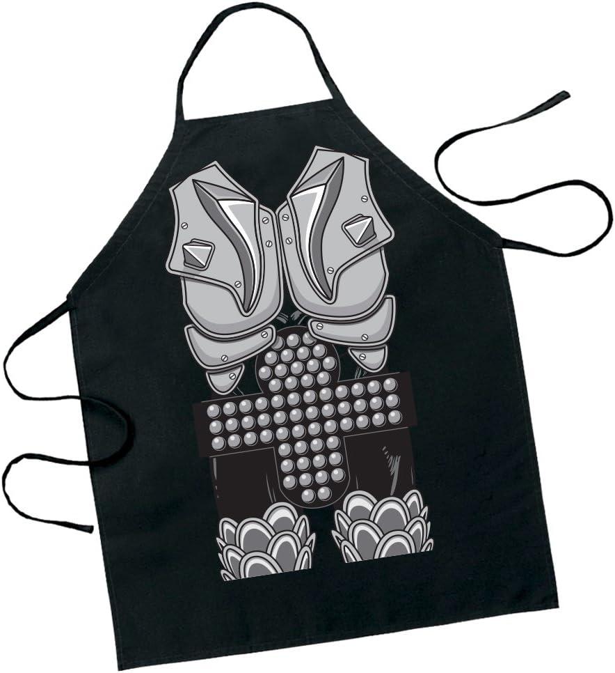 KISS The Demon Gene Simmons Character Apron - Destroyer Figure Costume Design