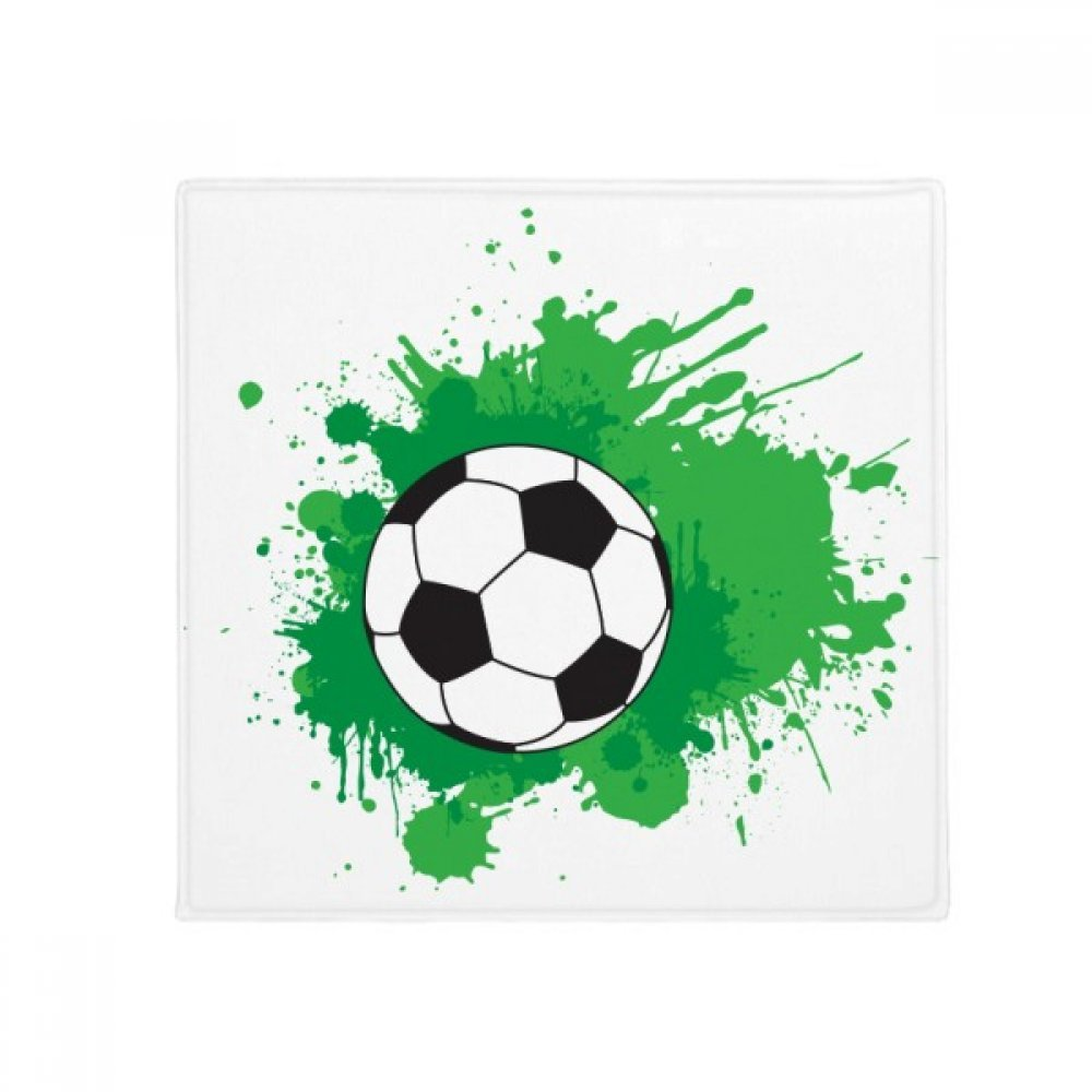 DIYthinker Soccer Football Sports Your Text Anti-Slip Floor Pet Mat Square Home Kitchen Door 80Cm Gift