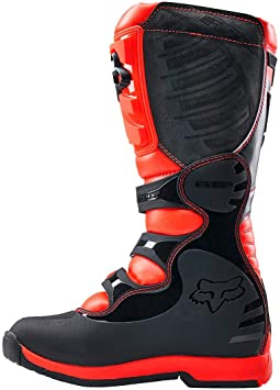 Fox Kids Bottes de Motocross Comp 5Y Schwarz Taille 32.5