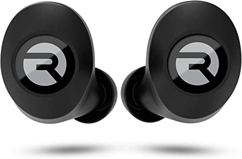 Raycon E25 Wireless Earbuds Bluetooth Headphones – Bluetooth 5.0 Bluetooth Earbuds Stereo Sound in-Ear Bluetooth Headset True Wireless Earbuds 24 Hours Playtime and Built-in Microphone Black