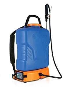 Jacto PJB-16, 4-Gallon No Leak Backpack Sprayer with Heavy Duty Pump, for Lawns and Gardens