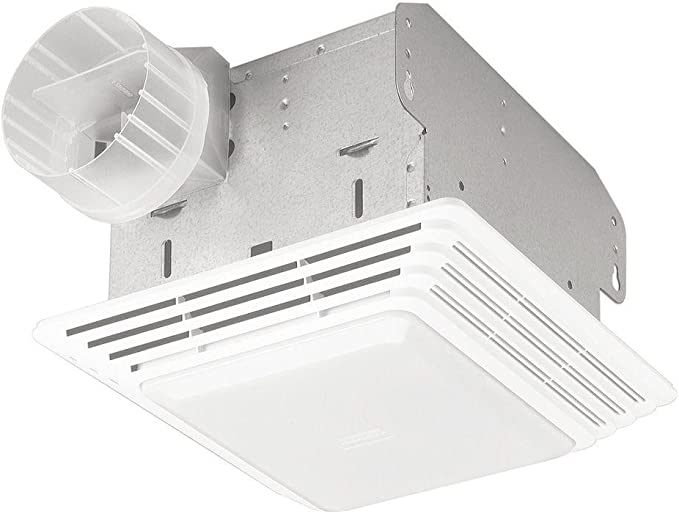 Broan-NuTone 678 Exhaust Ventilation Fan and Light Combination