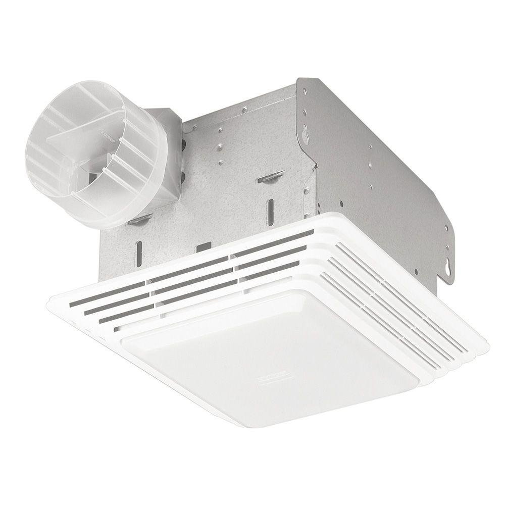 Bathroom Light Vent Broan 678 Ventilation Fan And Light Combination 50 Cfm And 25