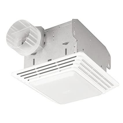 broan 678 ventilation fan and light combination 50 cfm and 2 5 rh amazon com Bathroom Fan Wiring Diagram Diagrams for Wiring Bathroom Fan and Lights