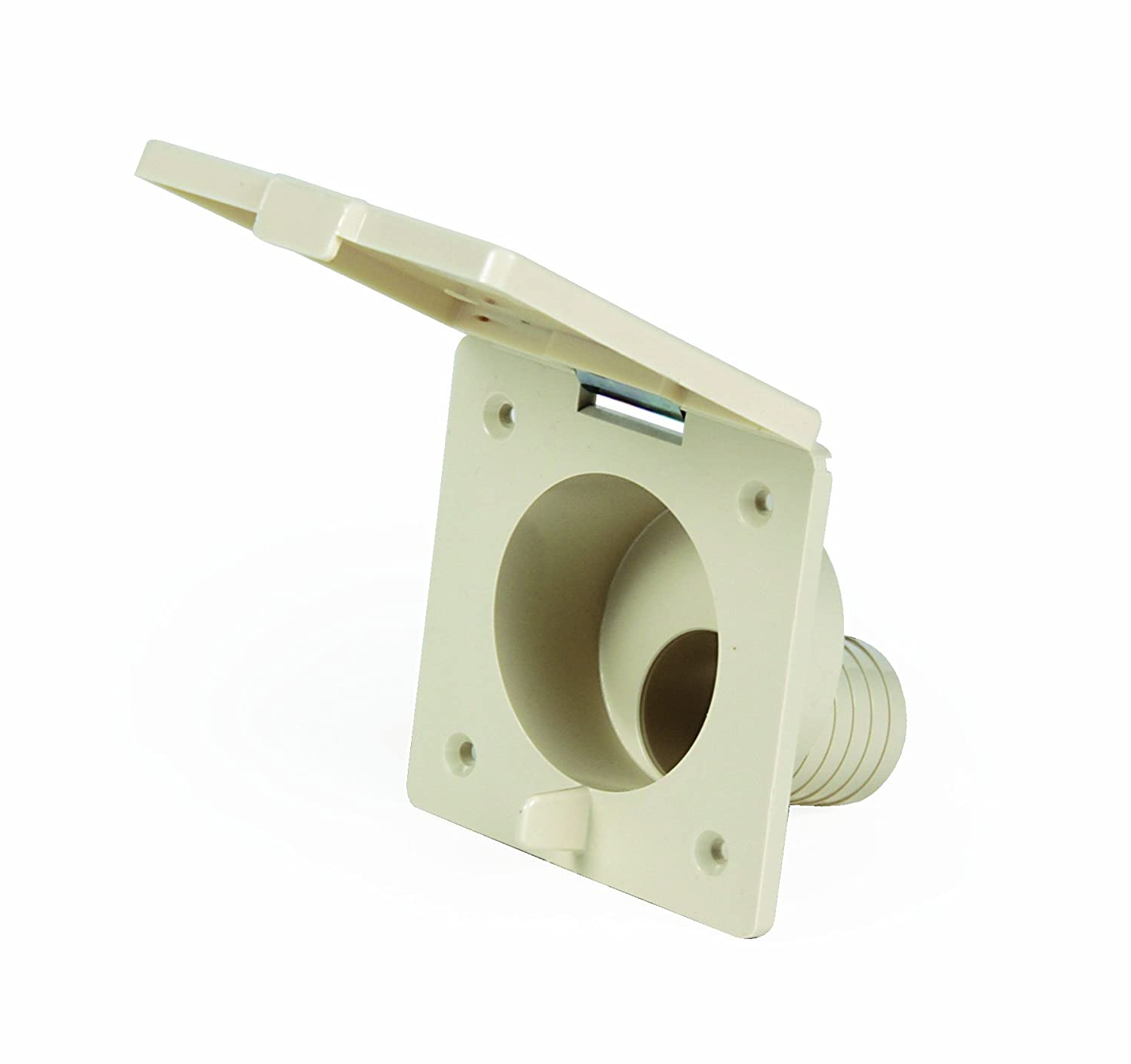 Camco 37102 Replacement Fresh Water Fill Spout (Beige) - Lead Free
