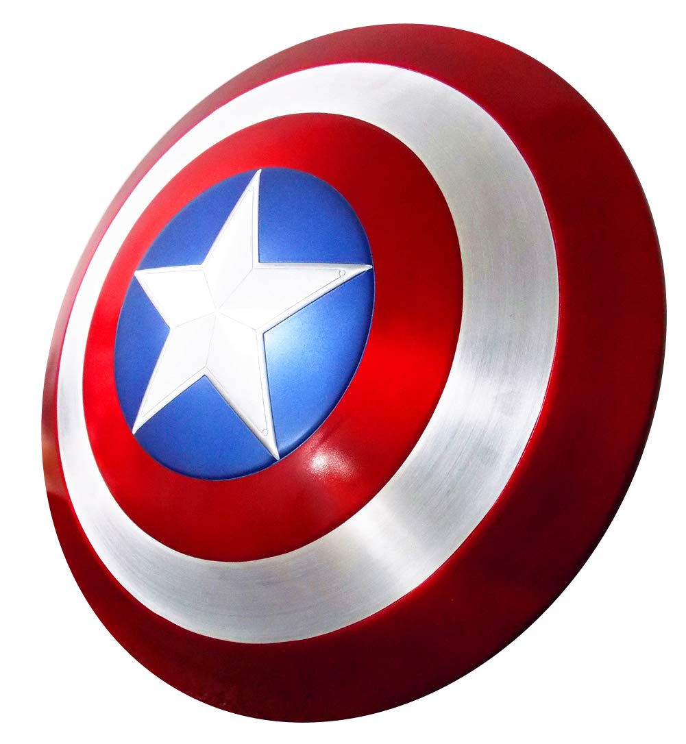 Gmasking Aluminum America Men's Cosplay Adult Shield 1:1 Replica Props+Adjustable Strap by Gmasking (Image #1)