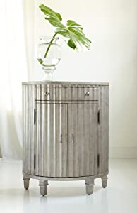Hooker Furniture Melange Fluted Demi Accent Chest in Resin Finish