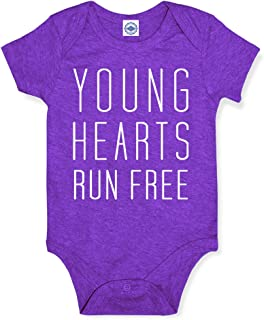 product image for Hank Player U.S.A. Young Hearts Run Free Baby Onesie