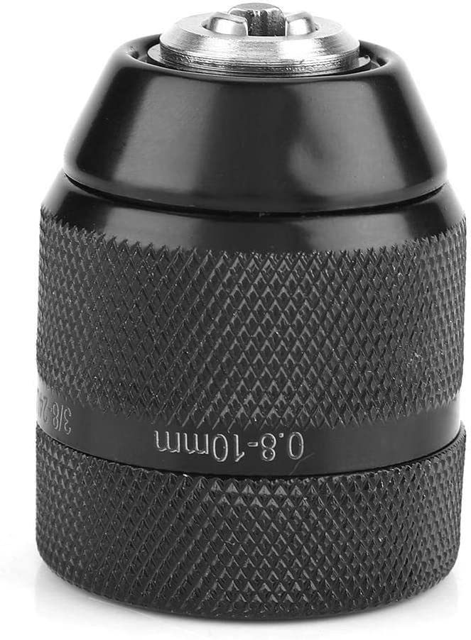 mandrin de foret /à m/étaux sans cl/é /à filetage de 3//80.8mm-10mm for perceuse /électrique /à main Mandrin de perceuse