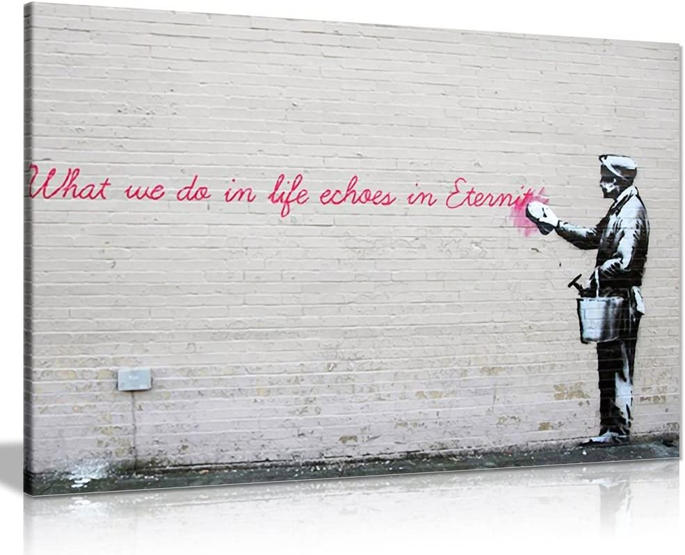 Banksy Graffiti Art 6x4 Pack of 10 Photo Poster Print ONLY Wall Art