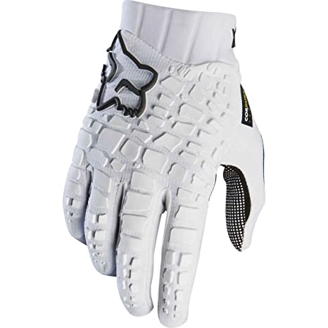 7919a0c9b Amazon.com   Fox Racing Sidewinder Glove - Men s White Black