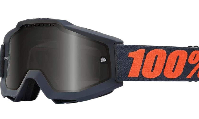 100% Accuri Sand Goggles-Gunmetal by 100% 100 Percent 50201-025-02