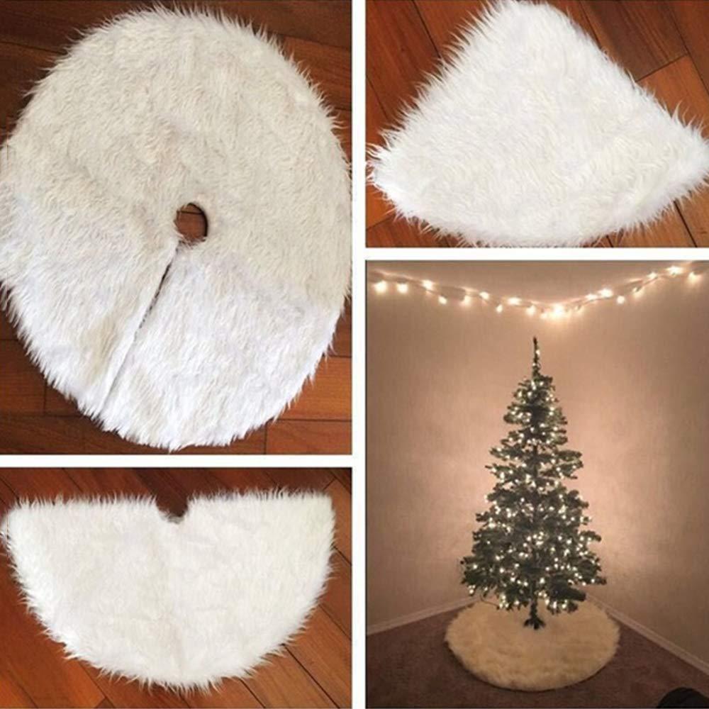 Punkins jianwang3 Gonna per Alberi di Natale Tappetino Tappeto Forniture per Feste Ornamento di Natale Peluche Decorazioni per la Casa in Cotone Cotton