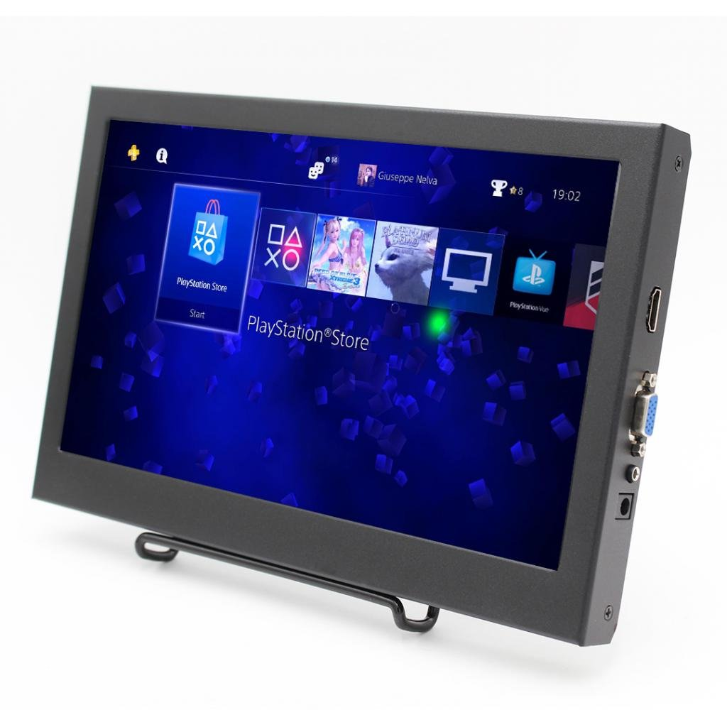 MagiDeal 11.6 Inch HDMI VGA Full HD IPS1920x1080 Resolution Monitor For PC Camera
