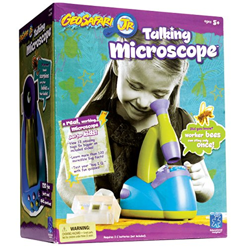 Educational Insights GeoSafari Jr. Original Talking Microscope