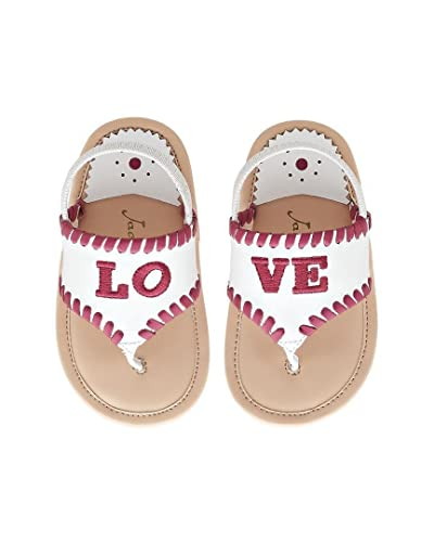 Jack Rogers Baby Girl s Baby Lo-Ve (Infant Toddler Little Kid) 8545e3f12