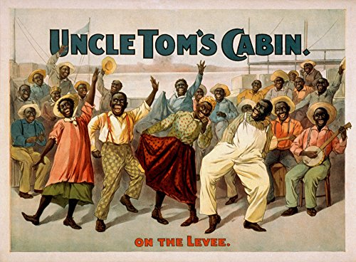 (Uncle Tom's Cabin ''On the Levee'' Blacks Play Poster (12x18 SIGNED Print Master Art Print w/Certificate of Authenticity - Wall Decor Travel Poster))