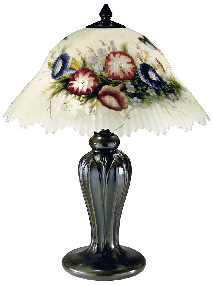 Exceptionnel Dale Tiffany 10190/706 Hummingbird/Flower Table Lamp, Antique Bronze And  Glass/Handpainted Shade     Amazon.com