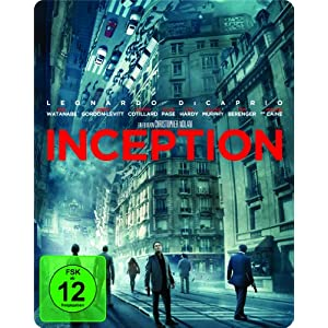 [Amazon] Inception als Steelbook Edition [Blu ray] für nur 7,97€ & Star Wars   The Clone Wars [Blu ray] für 6,99€   je inkl. Versand