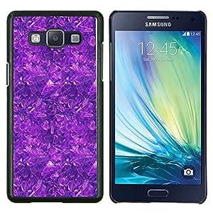 """Be-Star Único Patrón Plástico Duro Fundas Cover Cubre Hard Case Cover Para Samsung Galaxy A5 / SM-A500 ( Modelo púrpura"""" )"""