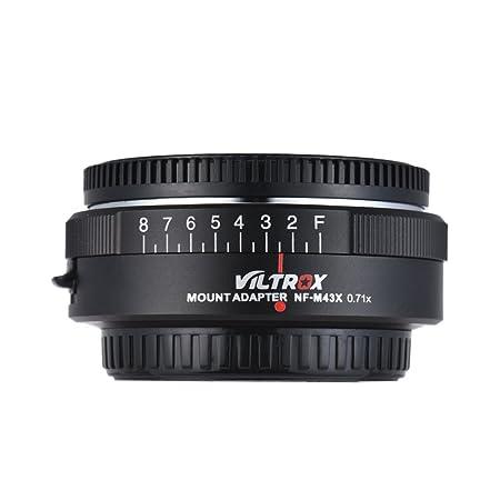 Review Viltrox NF-M43X 0.71X Lens